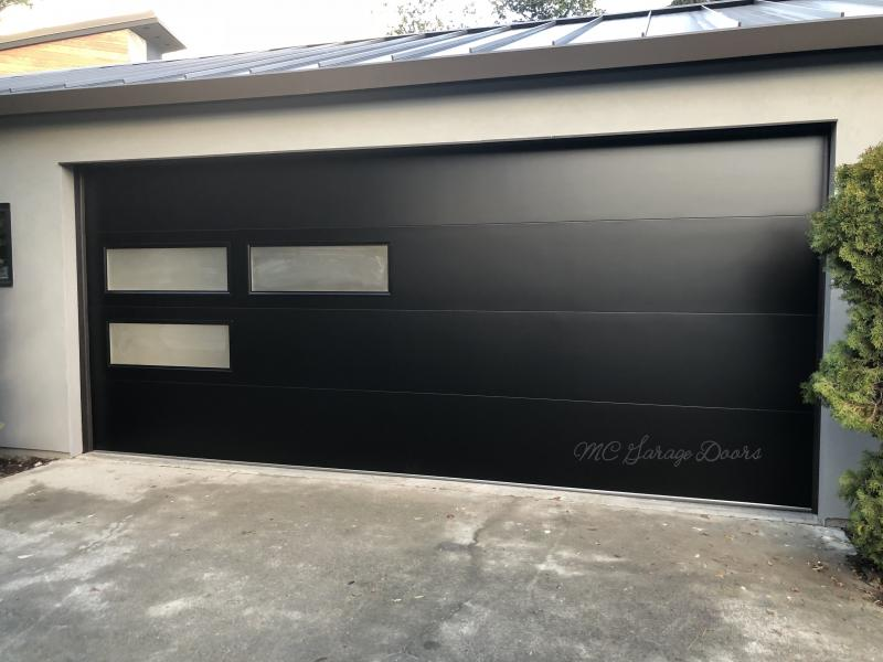 Configuration Can Be Seen In The Photos Our Garage Doors Page Or As This Customer Chose To Do You Even Design Your Own Window Pattern